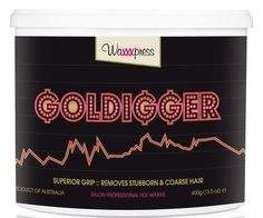 Add some bling to your waxing treatments! If you ain't a goldigger, girl, your salon ain't gonna get to the top! There's no time for short and stubborn hairs when your clients got their bling on and flauntin' that boot-ay. My naturally flexible non-brittle formula spreads on thinly and has superior grip, coz I have been formulated, like you, to always achieve exceptional results.  Use me if you like to speed wax. Best for total body waxing.