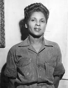 Belle Calhoun, employee of the Lincoln Wire Company chosen Miss Negro War Worker Source