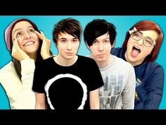 LOVE THEMMMM  Teens React to danisnotonfire and AmazingPhil! - YouTube