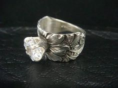 Made by Pat Horlacher Jewelry Art, Jewelry Rings, Jewlery, Silver Jewelry, Jewelry Accessories, Fashion Jewelry, Unique Jewelry, Western Wedding Rings, Cowgirl Bling