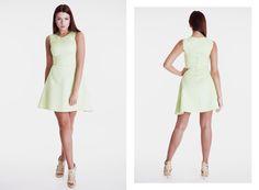 Sukienka z nieco dłuższym tyłem. Zapraszamy na www.GANTOS.pl oraz na ul. Abrahama 10 w Gdyni. Na nasze klientki czeka dużo promocji i wyprzedaży!