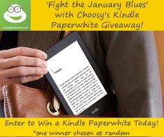 "Choosy's ""Fight the January Blues"" Giveaway :o)        Use the following Lucky URL to enter: http://choosybookworm.net/giveaways/choosys-fight-the-january-blues-giveaway-o/?lucky=19472"