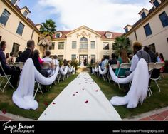 SUCH A Beautiful Wedding Location Check Out This Outdoor Ceremony Space The Historic Thomas Center Gardens
