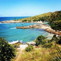 Considerada um dos refúgios da cidade, a Praia de Calhetas, localizada no município de  Cabo de Santo Agostinho (PE), é uma das melhores opções para os amantes da natureza. Foto: @apaixonadosporviagens