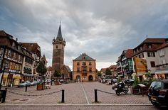 Obernai, France #tourismeobernai