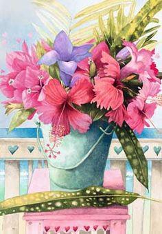 *Hibiscus* ~ by Marjolein Bastin ♣~