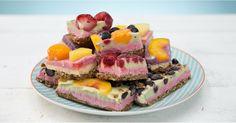 Yes please!!! Metabolism-Boosting Rainbow Breakfast Bars https://www.popsugar.com/node/43477189 #movemorefitness#eathealthy #sh8pefitness