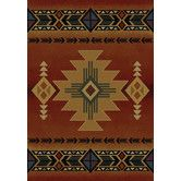 Found it at Wayfair - Genesis Auburn South Western Arizona Crimson Area Rug