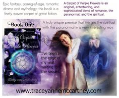 Traceyanne McCartney (@jasmoonbutterfl) | Twitter Spirituality Books, Coming Of Age, Purple Flowers, Fiction, Blessed, This Book, Romance, Dreams, Fantasy
