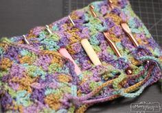 Free Crochet Pattern for a Crochet Hook Case