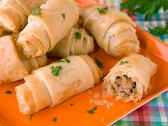 Sausage Phyllo Rolls