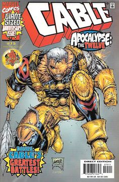 Apocalypse: The Twelve 2/8: 'Who is worthy to break the seals..?' ..Written By Joe Pruett , Art Rob Liefeld, Cover Art Rob Liefeld, the war you've been waiting for: Cable vs. Apocalypse! Their conflic
