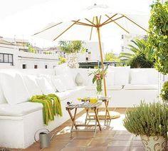 Muebles de obra o concreto para tu terraza, ¡resistentes y durables!   Decoración