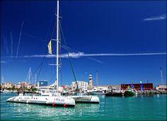Bay in Barcelona Port