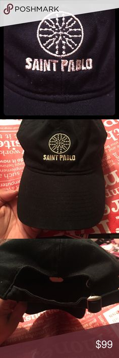 Yeezy! Saint Pablo Tour Hat! Hard to find, Brand new Saint Pablo Tour hat. Purchased inside at  one of his concerts. Original. Yeezy Accessories Hats