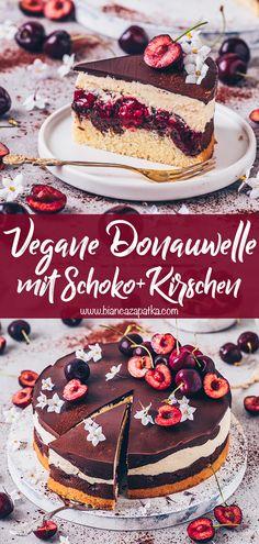Tart Recipes, Sweet Recipes, Cookie Recipes, Vegan Recipes, Vegan Pudding, Sweets Cake, Vegan Treats, Vegan Chocolate, Sweet Treats