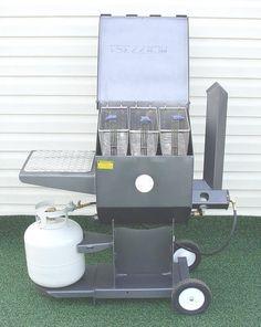 Kitchener Triple Basket Deep Fryer Faucets For Kitchen 15 Best Images Backyard