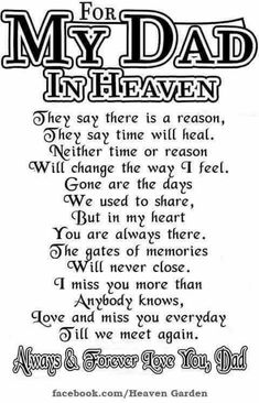 Happy birthday dad in heaven quotes poems pictures from