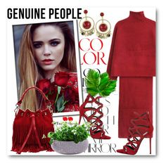 """Genuine people 6"" by fashionmonsters ❤ liked on Polyvore featuring Rika, Giuseppe Zanotti, women's clothing, women, female, woman, misses and juniors"