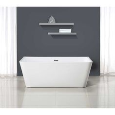 "Ove Decors Vega 63"" Freestanding Bathtub"