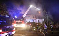 Großeinsatz bei Wohnhausbrand in Rutzenham