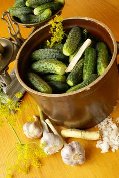 Homemade Pickles (No Canning Necessary).