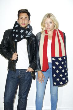 The VOTARY / CLASSIC (Flag Scarf)