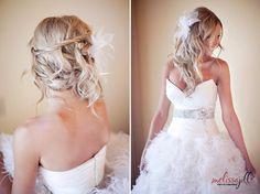 Love the hair, but love the dress too!! It's amazing!!