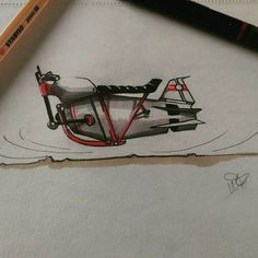 Reactor bike #sketchbooks #sketchbook #sketch #motorcycles #moto #futuristic #caferacer #caferacers #antigravity #dragster Sketchbooks, Futuristic, Motorcycles, Bike, Photo And Video, Drawings, Painting, Instagram, Bicycle