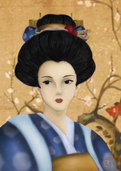 #draw #digital painting #japaneseart