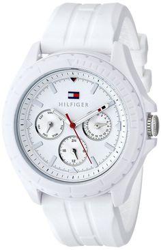 Women watches    Online store for Tommy Hilfiger Women's 1781425 Analog Display Quartz White Watch