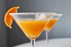Clementine, Bourbon & Clove Cocktail: fresh-squeezed clementine juice, bourbon, whole cloves