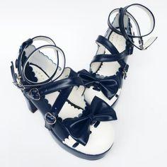 Sweet Straps High Platform Lolita Heels Shoes