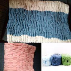 #Mantas tejidas con #Milano de Lanas Mondial. Una lana muy suave con gran variedad de colores a elegir, descúbrelos todos en http://www.tricotlanfil.es/84-milano-mondial.html