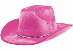 Pink Cowboy Hat Photobooth Props
