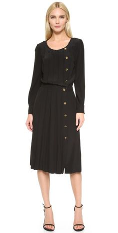 What Goes Around Comes Around Chanel Pleated Dress (Previously Owned) | SHOPBOP
