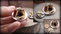 Puppenstube - Puppenküche - Miniatur Essen -Kuchen -1:12 | eBay