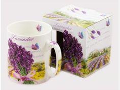 Porcelánový hrnek 750 ml - levandule Lavender, Mugs, Tableware, Dinnerware, Tablewares, Mug, Place Settings, Lavandula Angustifolia