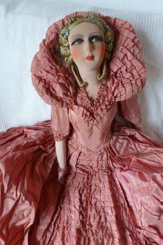 Poupée de salon, French boudoir doll