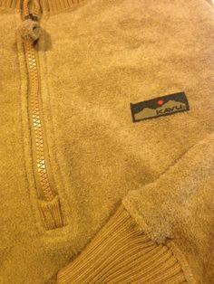 Kavu Size Large 1 4 Zip Sweatshirt Fleece Tan   eBay