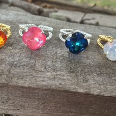 New Statement Rings 😍😍