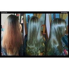 Corrección de color más mechas localizadas hairstyle haircolor hair cabellosano hairinstagram