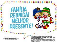 Plaquinhas Divertidas Patati e Patata 5 Clown Party, Circus Clown, Smurfs, Disney Characters, Fictional Characters, 1, Lazy Town, Clowns, Gabriel