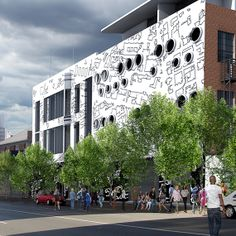 Rocket Factory is situated in the heart of the Maboneng Precinct and offers convenient urban living for those wanting to join a thriving community. The striking artwork of the building was designed… Street View, Rock, Artwork, Design, Work Of Art, Auguste Rodin Artwork, Skirt, Locks, Batu