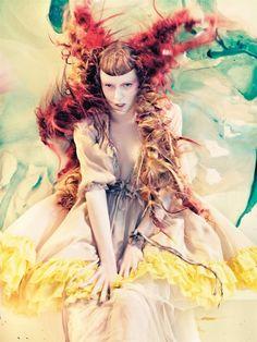 Morning Beauty   Karen Elson by Craig McDean #fashion #editorial
