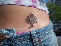 small tree tattoo - Google Search