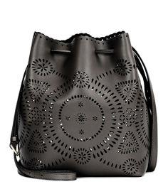78d471d76f BUCKET-BAG AUS PERFORIERTEM LEDER POLO RALPH LAUREN Leather Pouch