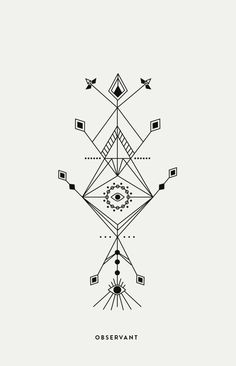 Personal Projects Line Art & Totem Design