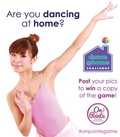 Would you like to win a copy of On Pointe, the ballet board game?  Post a pic to Facebook or Instagram of you dancing at home. Use hashtag #onpointegame to win.  Must reside in the US or Canada.  Ends May 31, 2020. #dancecontest #keepdancing #contest #boardgame #balletdancer #ballerina #dancelife Home Dance, Games For Girls, Ballet Dancers, Ballerina, Board Games, Dancing, Challenges, Canada, One Piece