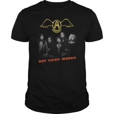 Aerosmith Get Your Wings Album  Purchase Link: https://www.sunfrog.com/Aerosmith-Get-Your-Wings-Album-Black-Guys.html?7071
